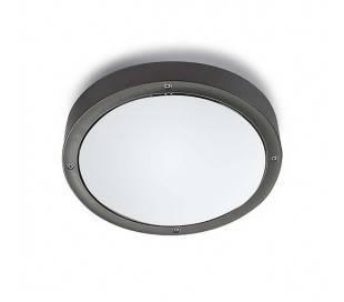 Plafonniers BASIC 39 x LED 14.5W gris foncé Leds C4