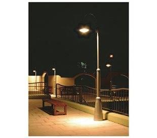 Lampadaire extérieur PANA IP65 LED 34W 3600lm 4K anthracite