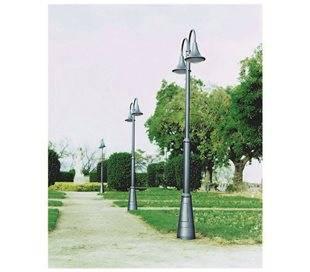 Lampadaire extérieur 2L PANA IP65 LED 34W 3600lm 4K anthracite