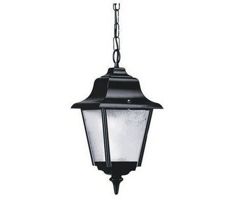 Lampadas Colgantes da esterno ROB IP43 70W E27 Noir verre opaque