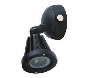 Projecteurs d'extérieur SENDAI IP65 GU10 50W Noir