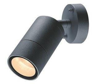 Projecteurs d'extérieur ABADIA IP54 GU10 max35W anthracite