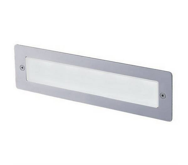 Lampes encastrable ext rieur das ip65 led 5w 157lm 3000k inox for Lampe exterieur encastrable