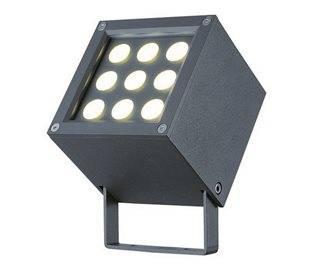 Projecteurs d'extérieur BARNI IP65 LED 9W 541lm 3000K anthracite