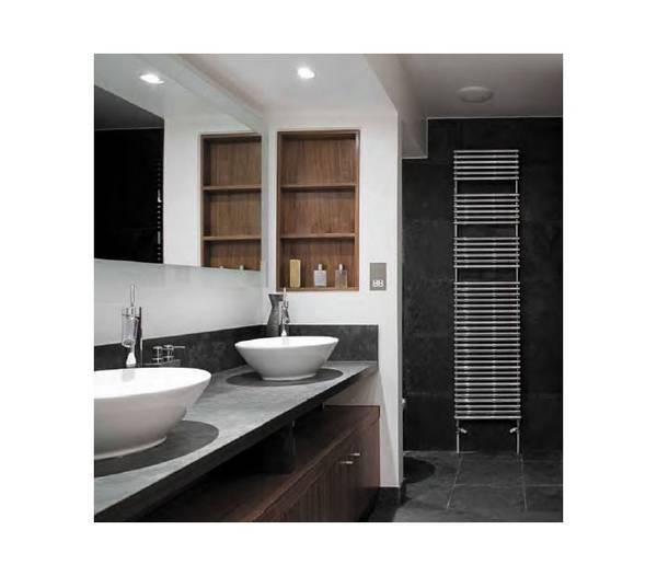 Kant anneau m tallique de salle de bains gris mr16 for Baignoire metallique
