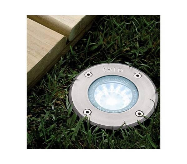 Lampe led ext rieur jardin encastr en acier inoxydable de for Led exterieur jardin