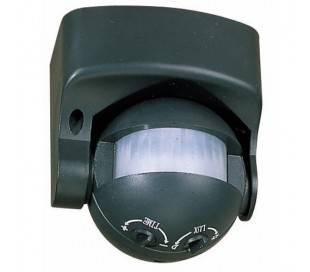 Détecteur de mouvement en PVC noir