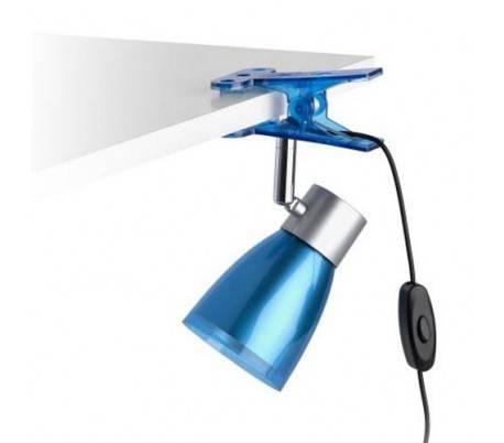 clip clip lampe d 39 aladin polycarbonate interne led bleue. Black Bedroom Furniture Sets. Home Design Ideas